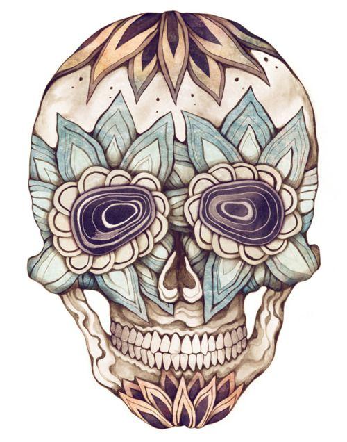 31 awesome girly skull - photo #7