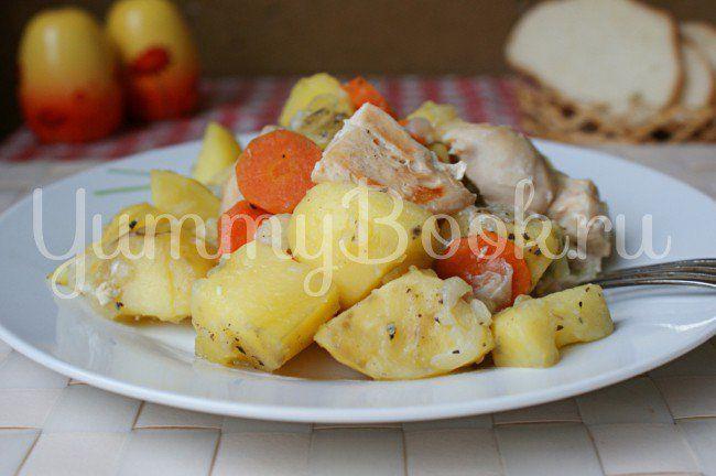 Жаркое с курицей в мультиварке | Рецепт | Идеи для блюд ...