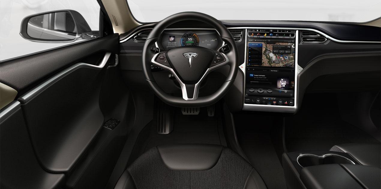 Het interieur van de Tesla Model S 85 [4-SVB-60] | My cars ...