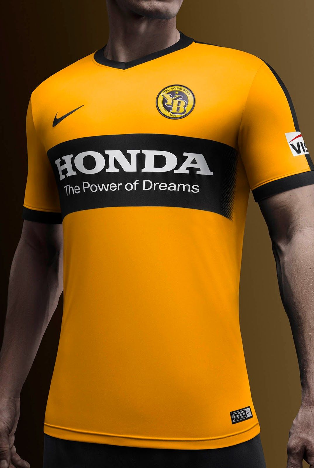1b1f77b41a944f The Nike BSC Young Boys 16-17 kits introduce stunning designs in yellow