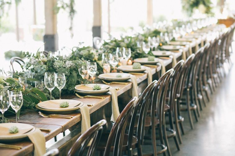 45 ways to dress up wedding reception tables