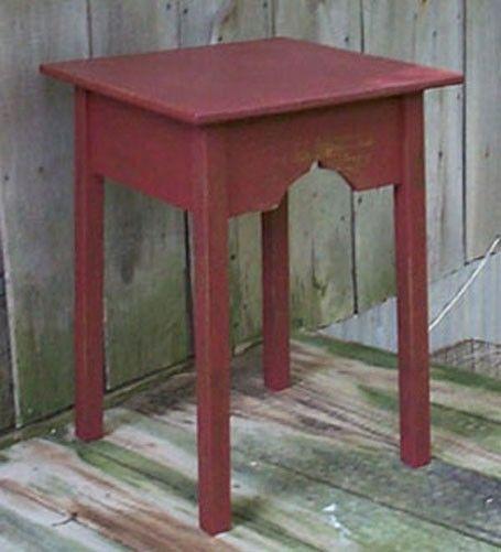 Primitive Lamp Side Table Pattern Plan WN107