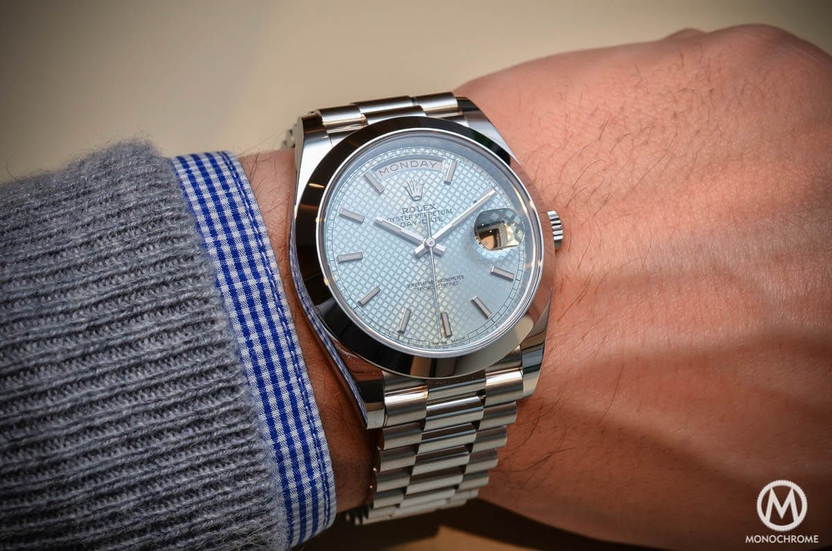 8d51abdde4b Review of the new Rolex Day-Date 40 with new Rolex Calibre 3255 - an  improved edition of Rolex luxury watch for baselworld 2015 - Live pics,  specs & price