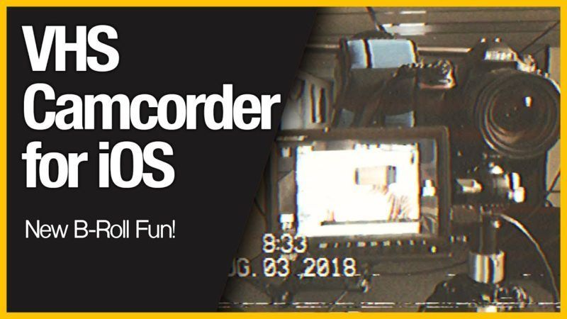 Vhs Camcorder For Ios New B Roll Fun Ios News Vhs Camcorder