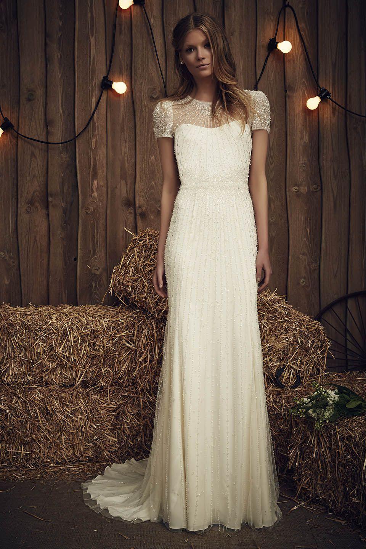 Jenny Packham 2017 Wedding Dress Available At Designer Bridal Room Hong Kong Jenny Packham Wedding Dresses Art Deco Wedding Dress Deco Wedding Dress