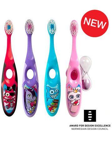 Step 3-5 vuotta - Jordan hammasharja 3-veelle, myös muut lastenhammasharjat kelpaa tyttöväreissä