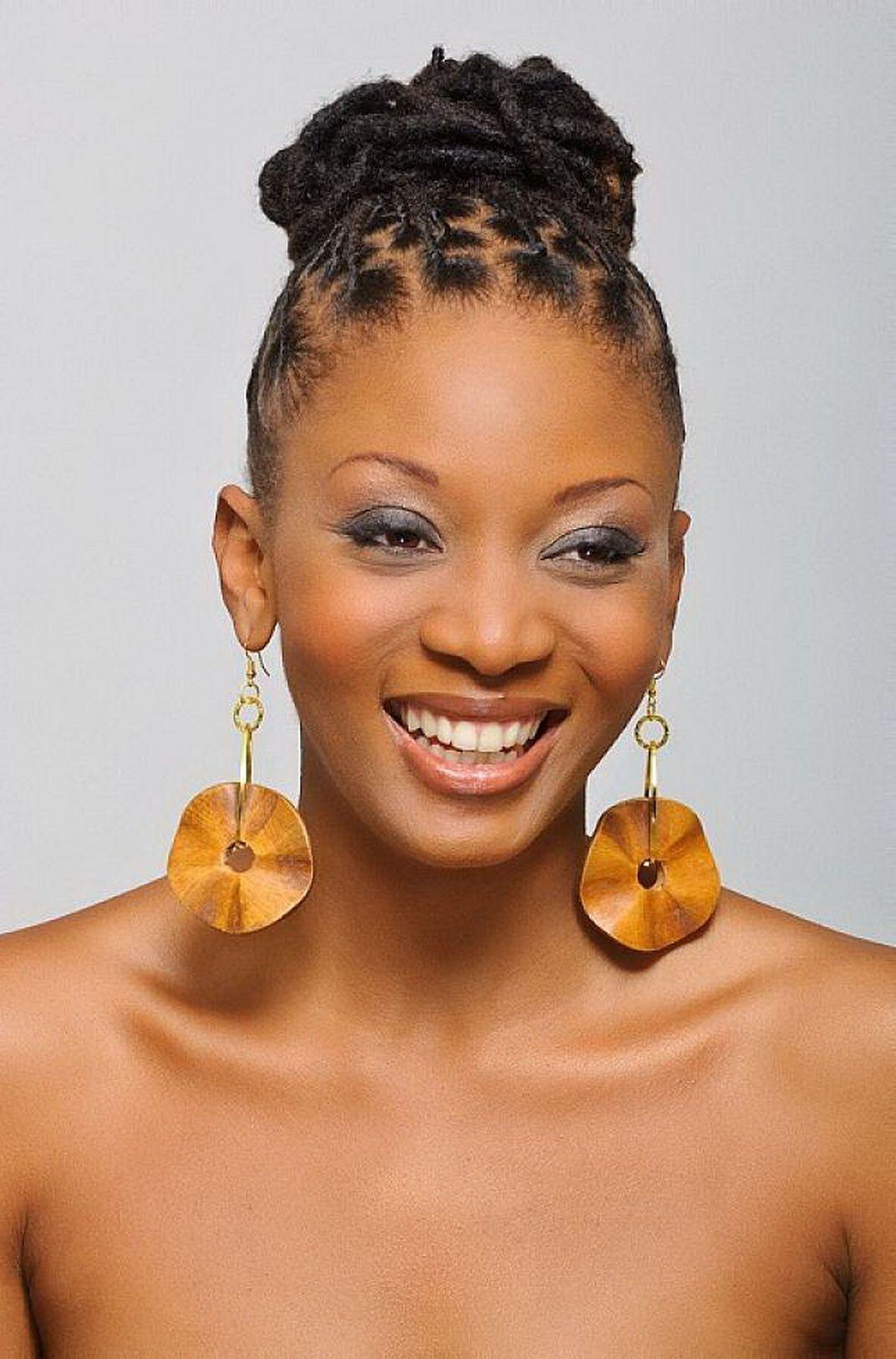 african american bun hairstyles | cute african american hairstyles