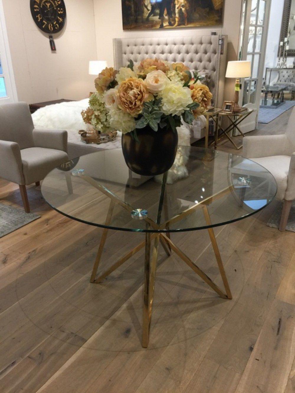 Einzigartig Runder Esstisch Glas Home Decor Decor Table