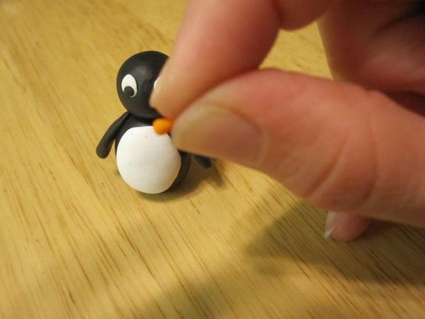 Creators Joy: Polymer clay Penguin Figurine Free Tutorial