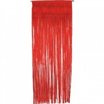 Red Foil Door Curtain Party Decoration Red Foil Anniversary Decorations Wedding Anniversary Decorations