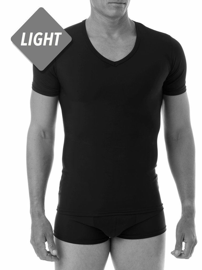 d336b19a76c8f Light Compression T - V-neck - XBODY UK - Light Compression T-shirt in V- neck design. Offers light compression for the upper body