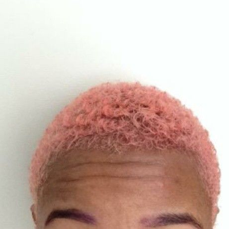 Ebony Pink Men Hair Color Hair Game Hair Color