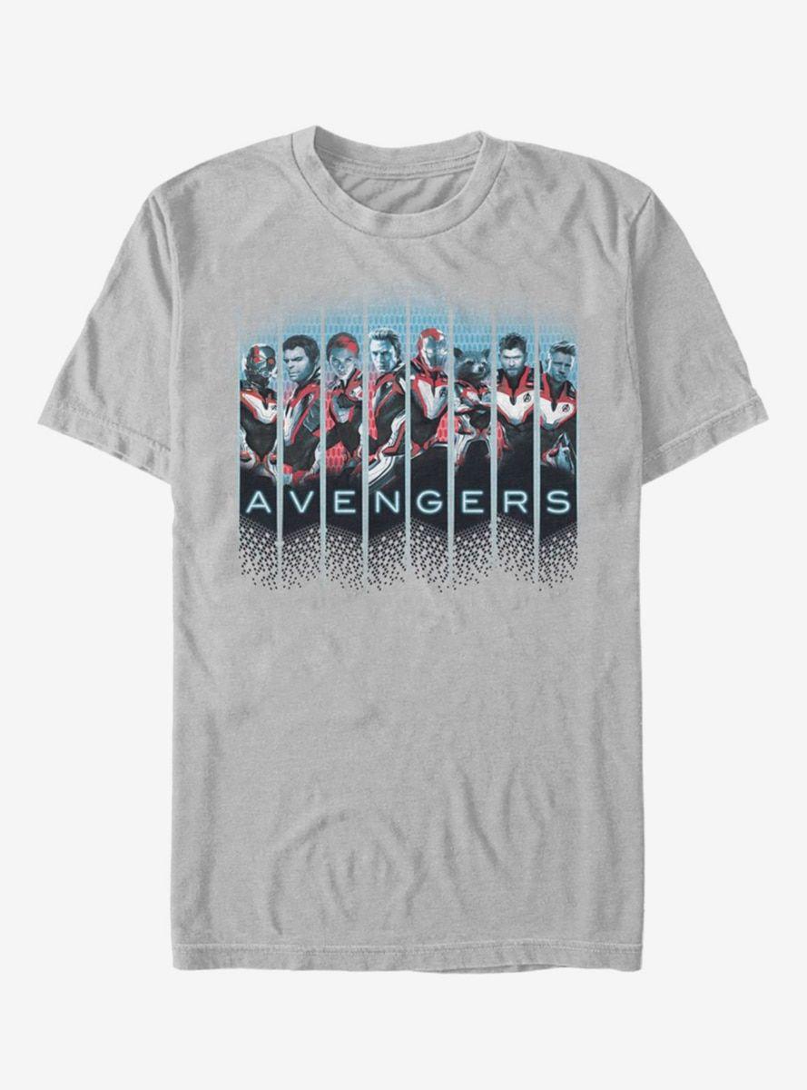 db192644c5d Marvel Avengers Endgame Grid Panel T-Shirt en 2019 | SUBLIMAR ...