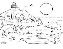 Dibujo Libre Para Artistica Buscar Con Google Beach Coloring Pages Summer Coloring Pages Cool Coloring Pages