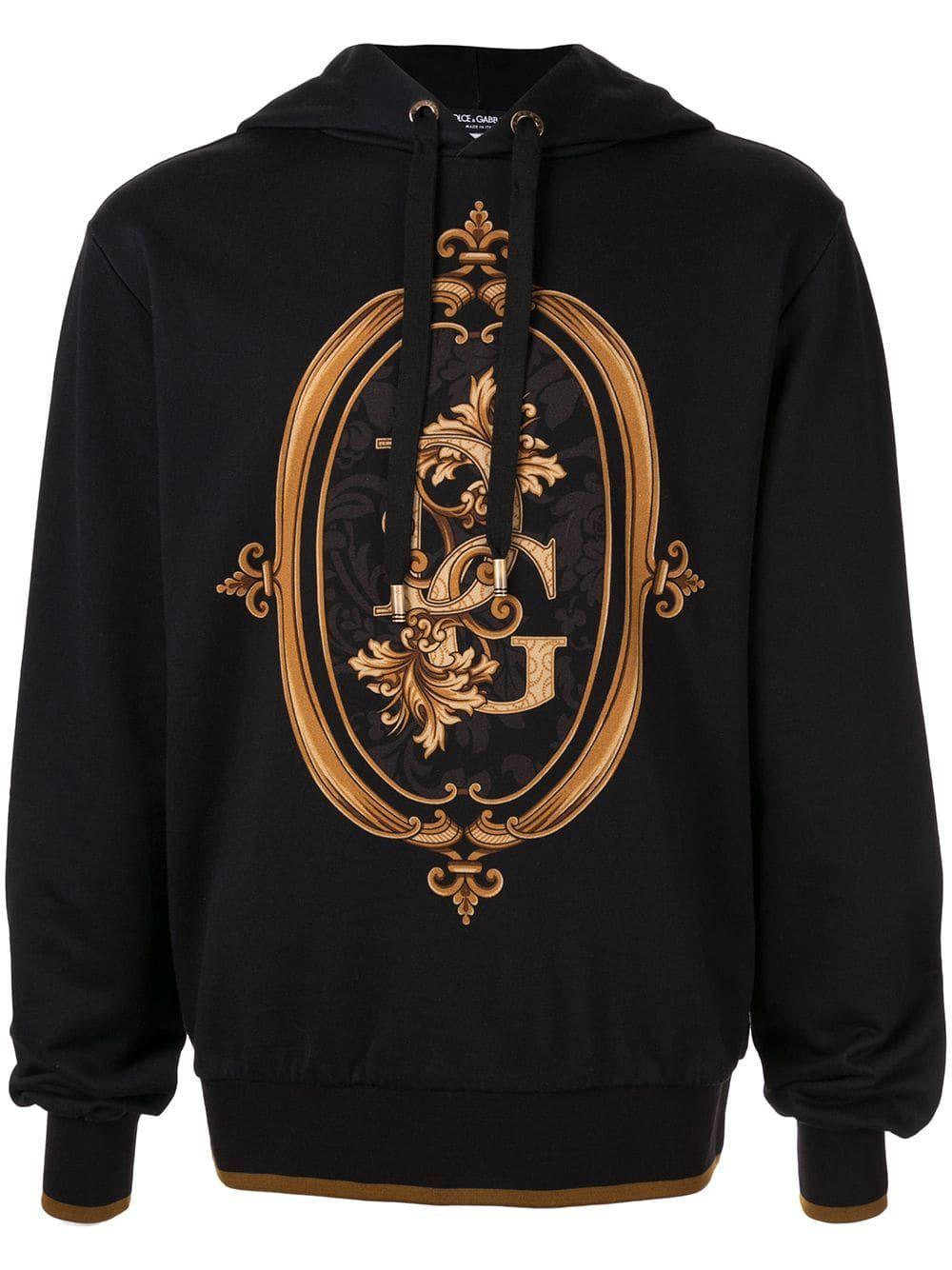 Dolce & Gabbana logoprint Hoodie Farfetch Dolce