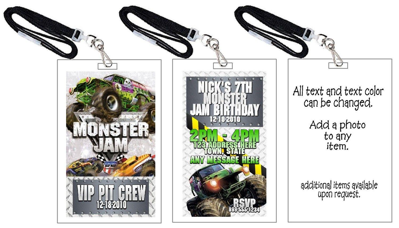 Monster Jam Birthday Invitations | Free Invitation Ideas | birthday ...