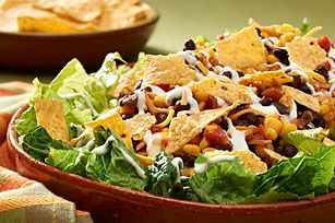 10-Minute Southwest Layered Salad recipe