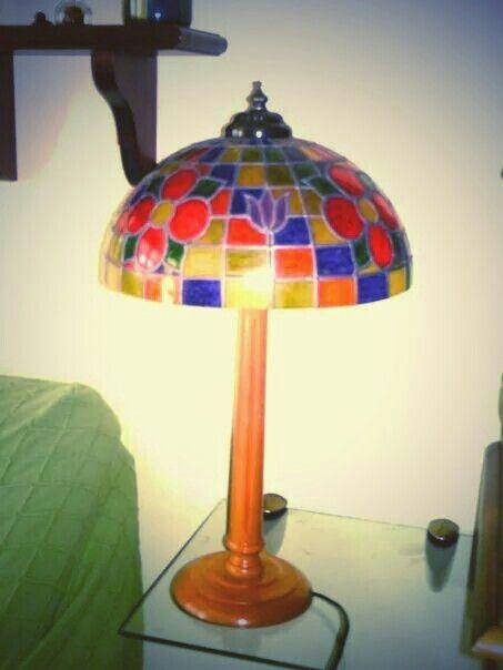 Lámpara falso tiffanys