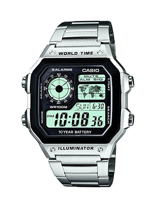 9e038a489b70 CASIO AE-1200WHD-1A - Reloj de pulsera