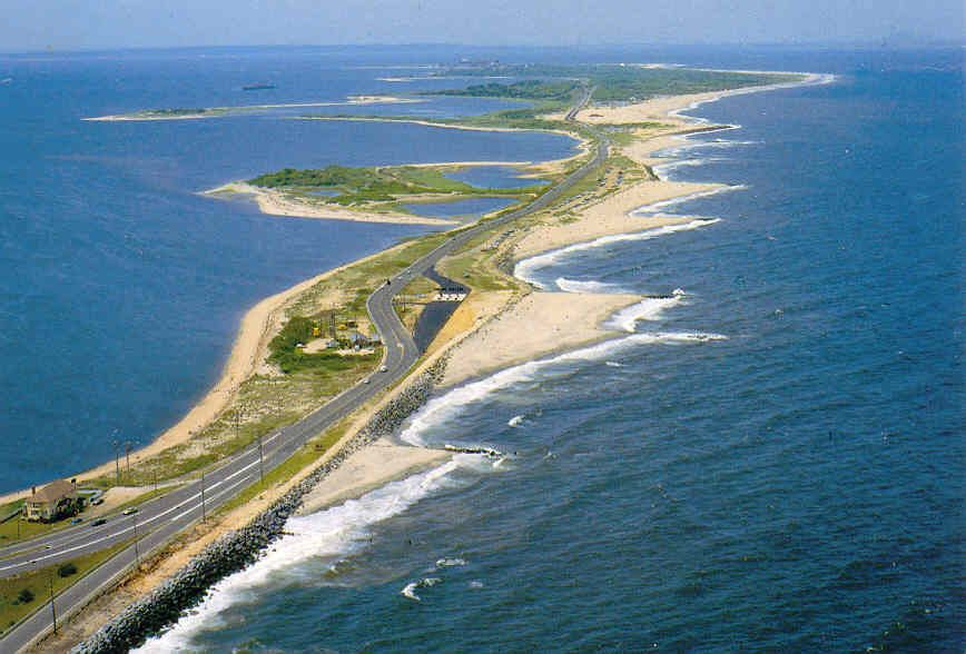 Sandy Hook New Jersey Fabulous Beaches And Sightseeing Is A Barrier Spit Roximately 6 Miles In Length Varying Between 1 To Mile
