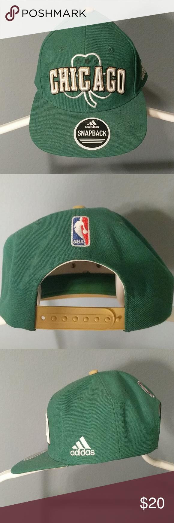 78243186ee8 Adidas Chicago Bulls Snapback St. Patrick s day snapback. adidas  Accessories Hats