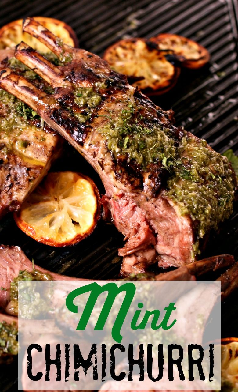 Put down that bottle of mint jelly, those lamb chops are screaming for something much sexier: Mint Chimichurri. An easy to make sauce that goes with any kind of meat, veggies and eggs!