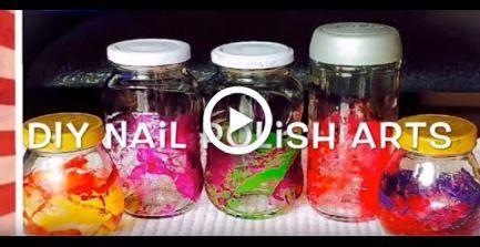 DIY Nagellack Art. Wie man süße und einfache Bastelideen mit Nagellack macht …   – Nail Polish