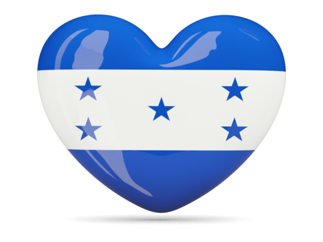 Heart icon. Download flag icon of Honduras Heart icons