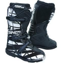 Photo of Shot K10 2.0 Motif Motocross Boots Black 31 Shot