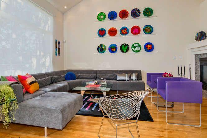 Modern Living room #arcturusstudio, #bertoiachair