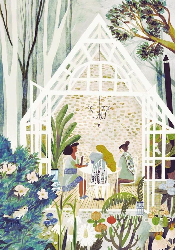 Illustrator Adelina Lirius Whisks You Away to Faraway Lands with Her Paintbrush