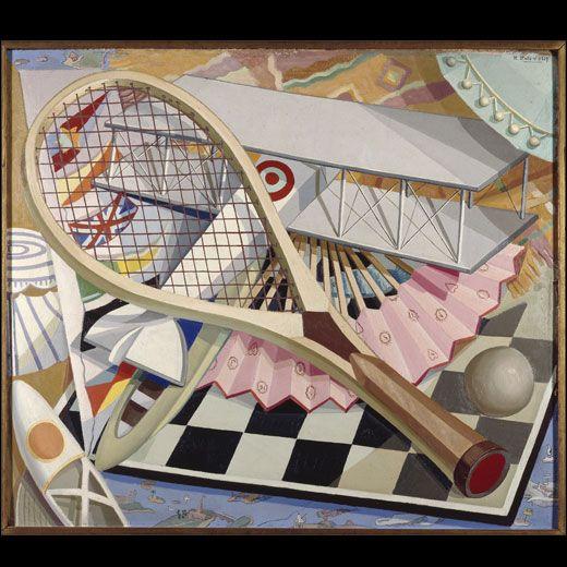 Elementos para el deporte (1927), de Maruja Mallo