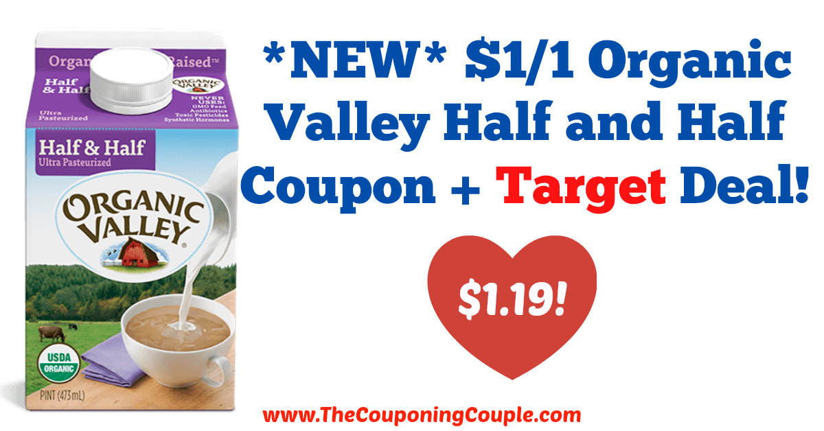 Great deal! *NEW* $1/1 Organic Valley Half and Half Coupon + Target Deal!  Click the link below to get all of the details ► http://www.thecouponingcouple.com/new-11-organic-valley-half-and-half-coupon-target-deal/ #Coupons #Couponing #CouponCommunity  Visit us at http://www.thecouponingcouple.com for more great posts!