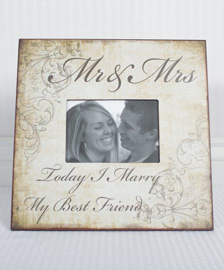 mr mrs frame zulily - Mr And Mrs Frame