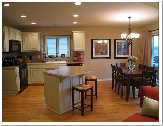 3 Ways To Update A Brand New House Beige Cabinets Beige