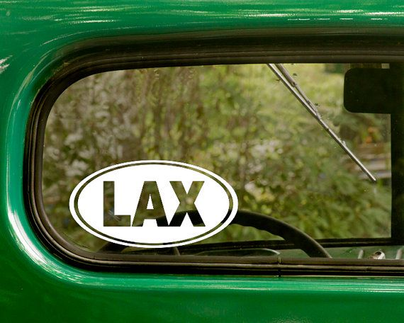 Lax lacrosse decal 2 stickers car decal lacrosse sticker euro style decal laptop sticker sticker bumper vinyl decal car sticker