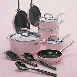 Kitchenaid Pot And Pan Set pink pots n pans | my pink kitchen | pinterest | radio, verde e colori