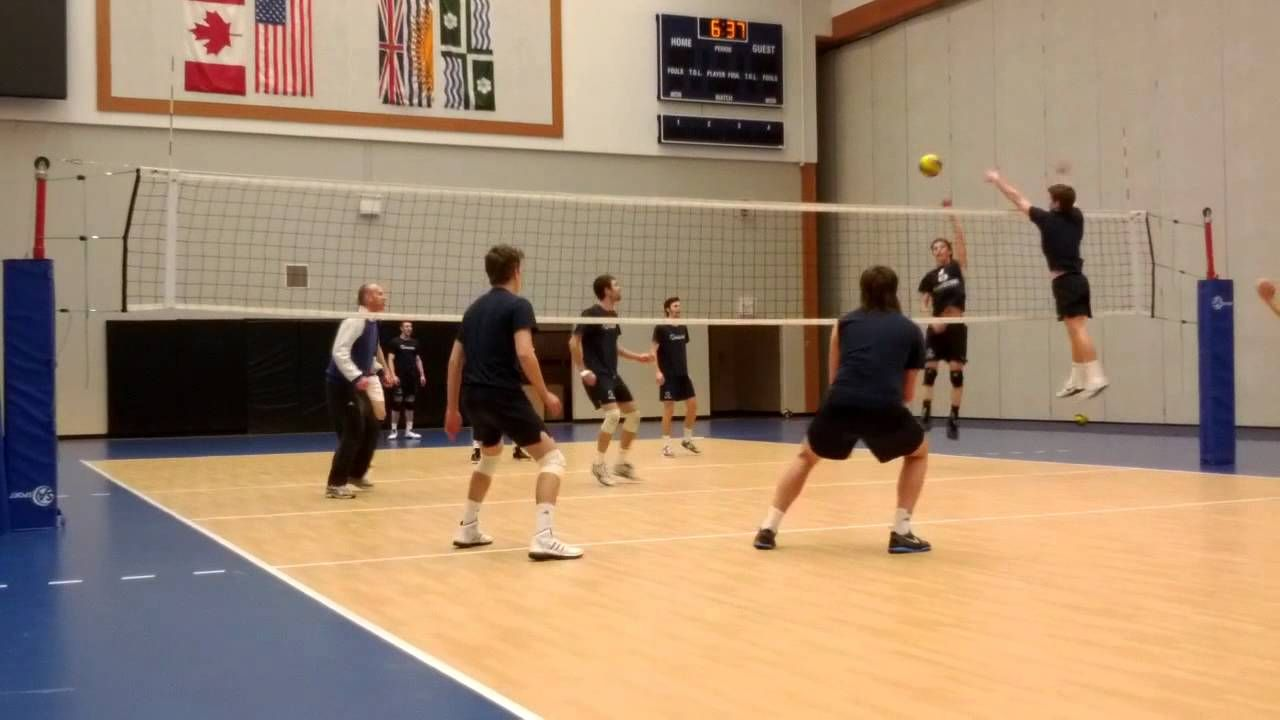 Twu Spartans Swedish Two Ball Mens Volleyball Spartans Volleyball
