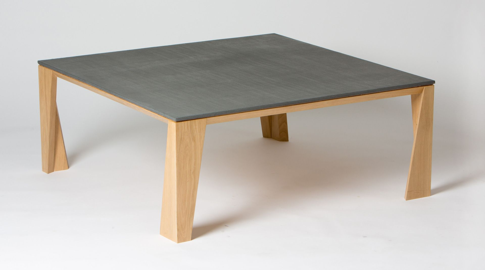 Idees Table De Salon Table Basse Bois Et Béton Tables Basses Concrete Table Table