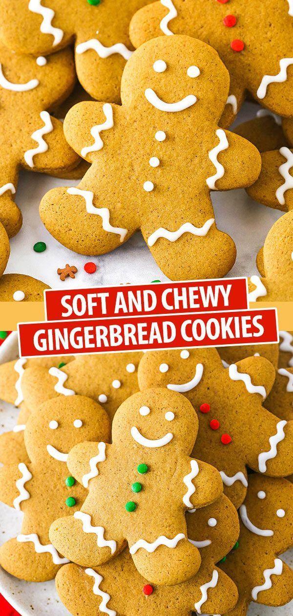 Best Gingerbread Cookies - Life Love and Sugar