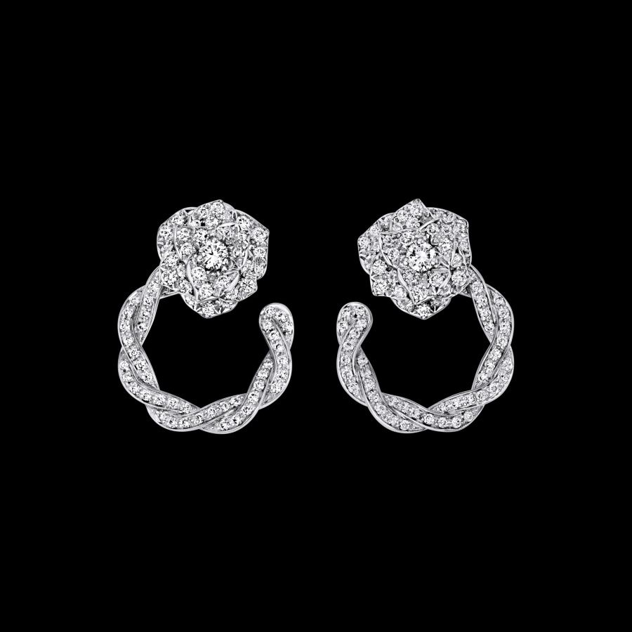 White Gold Diamond Earrings  Piaget Luxury