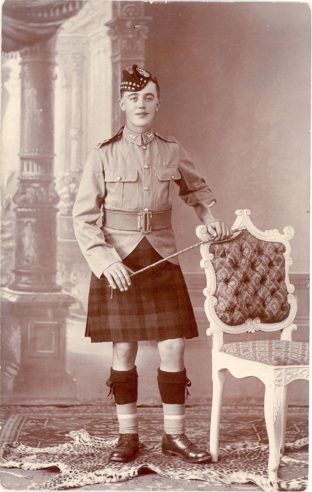 Gordon Highlander Possibly in India