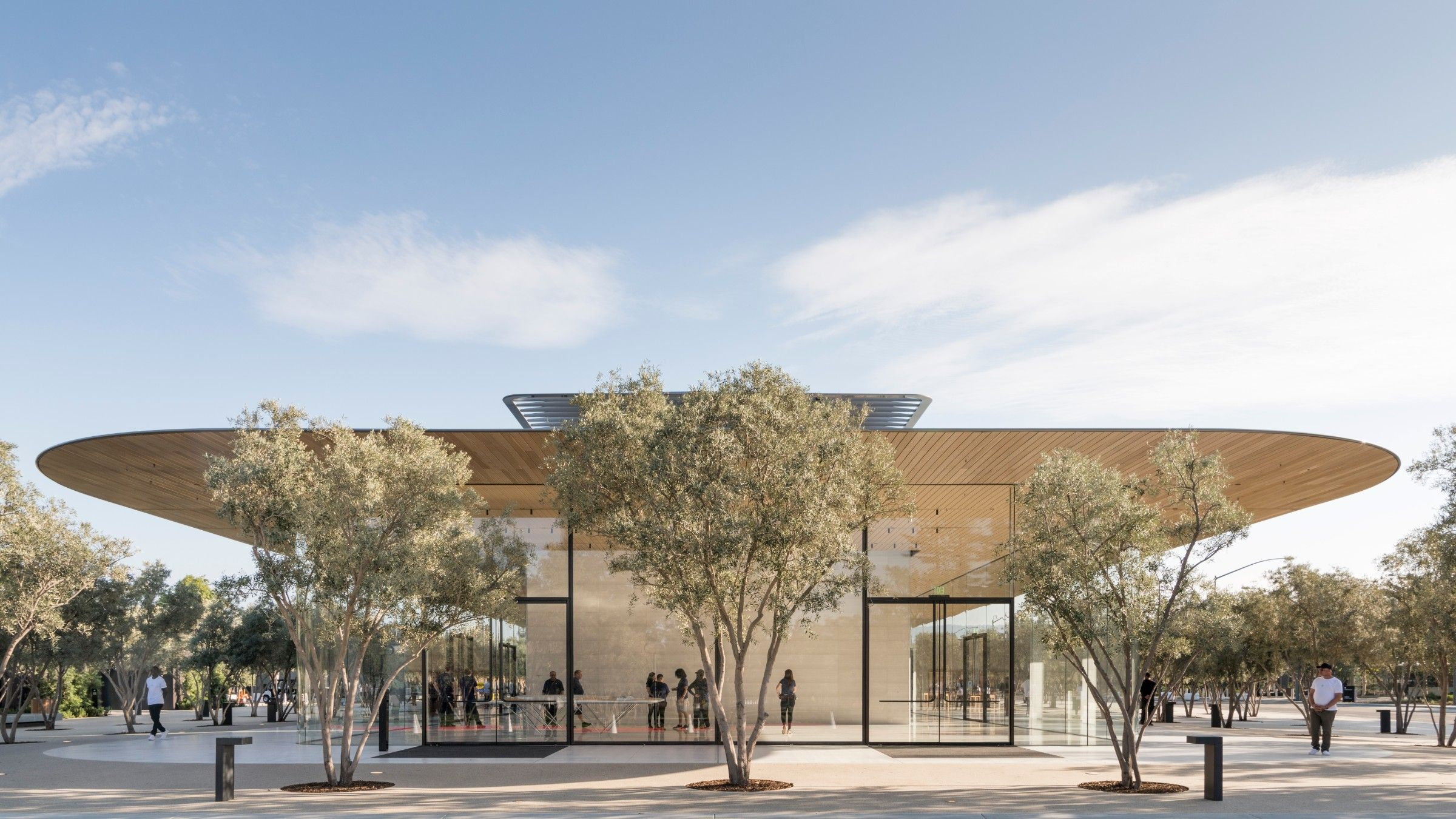 Apple Park Visitor Center By Foster Partners In California United