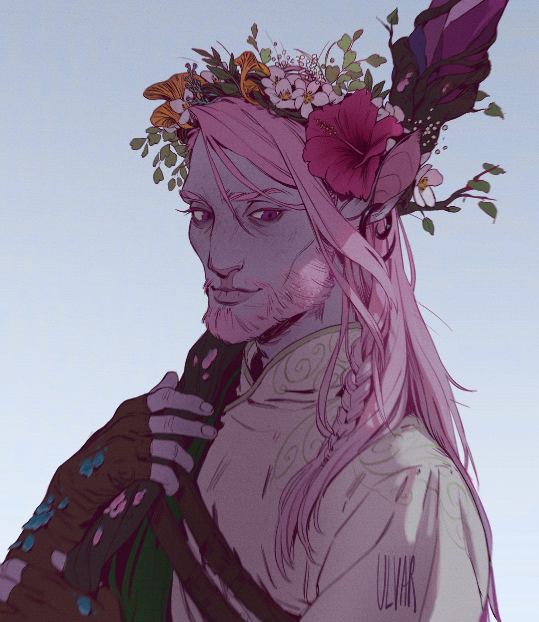Ulvar on | Personagens dnd, Animais místicos e Arte fantasia