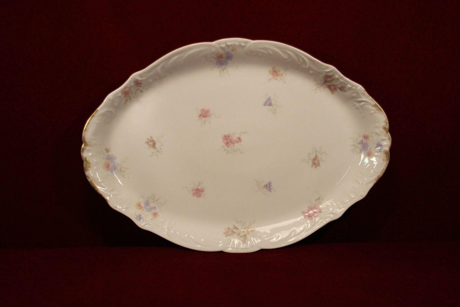 Haviland Limoges Platter Floral | Haviland Antique China | Pinterest ...