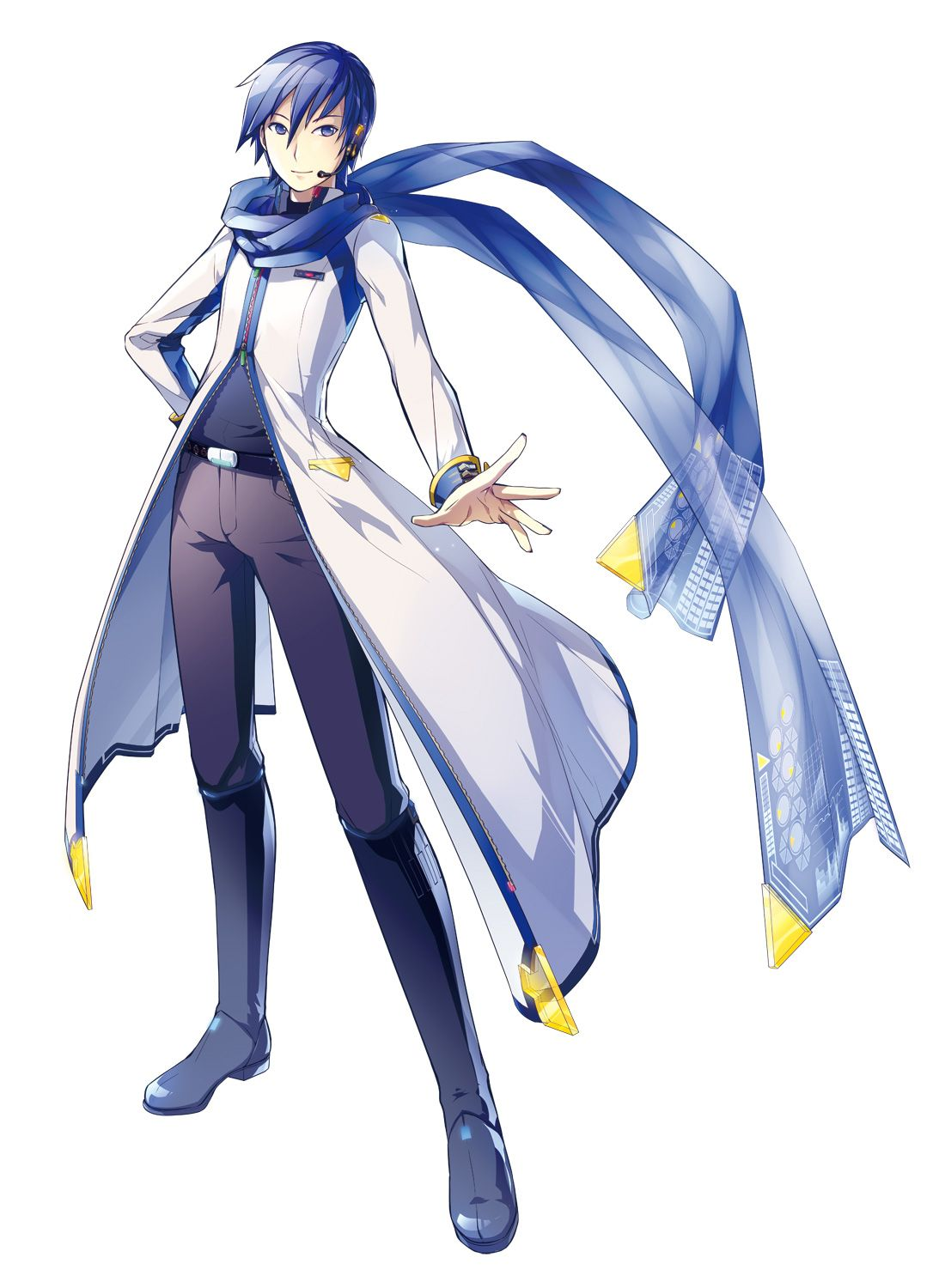 Kaito Shion From Vocaloid Anime Scarf Pinterest