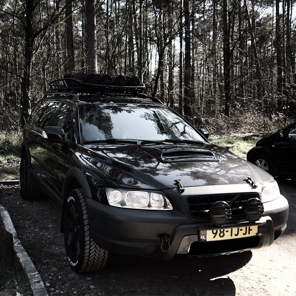 Lifted Volvo XC70 Cross Country With Off road Enhancements ...