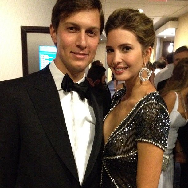 With @jaredkushner At The White House