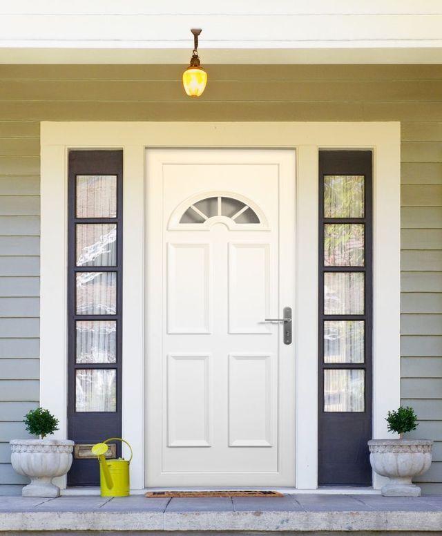 Repeindre une porte d\u0027entrée PVC Atelier, Deco e Entradas