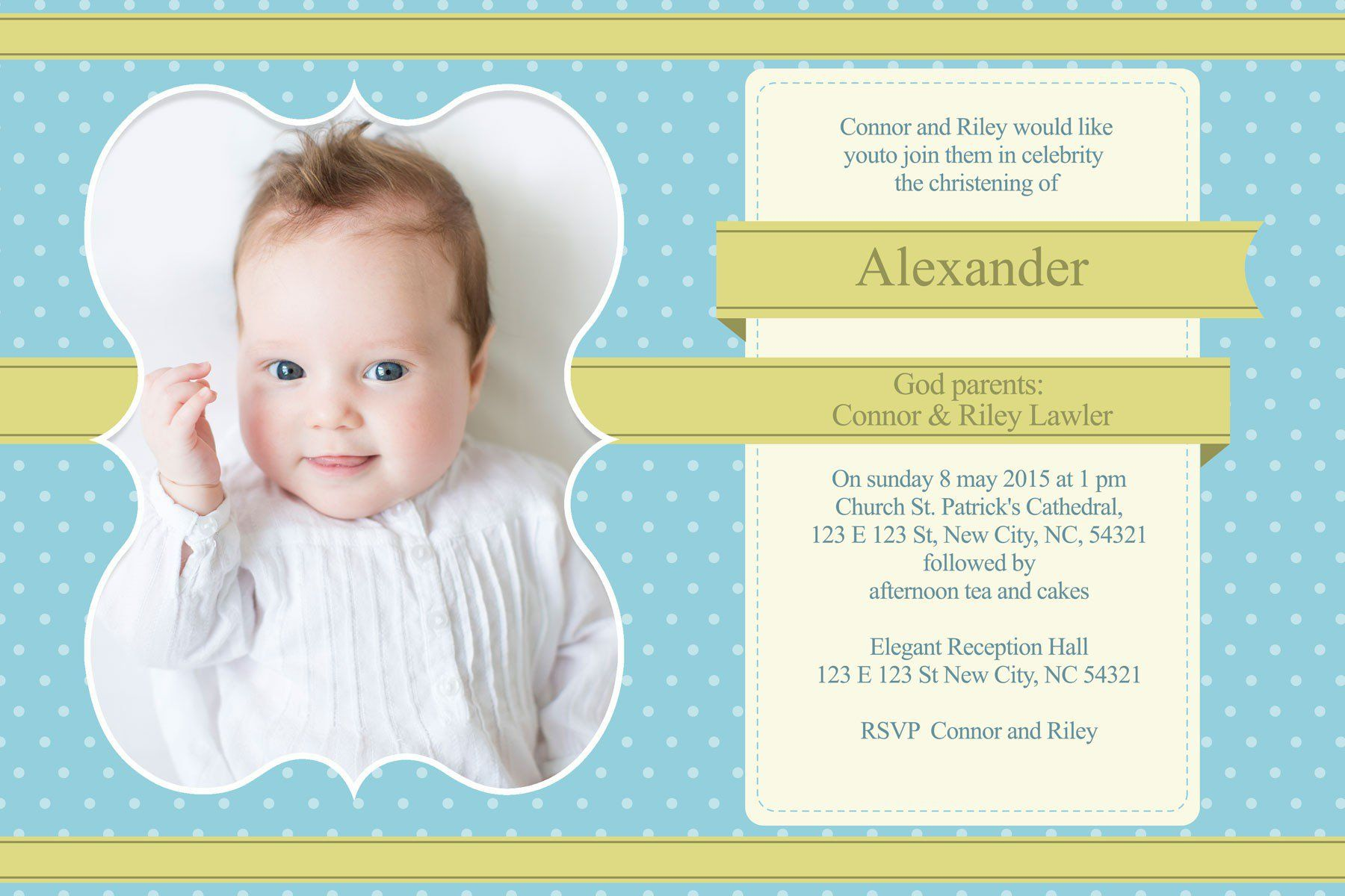 baptisminvitationcardforbabygirl baptism invitations